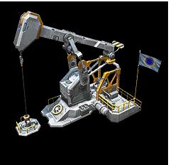 es oilderrick portrait 8 Techgebäude für das neue Command & Conquer