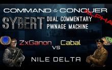ZxGanon[EU] vs Cabal[GLA] - Nile Delta - C&C(Alpha)