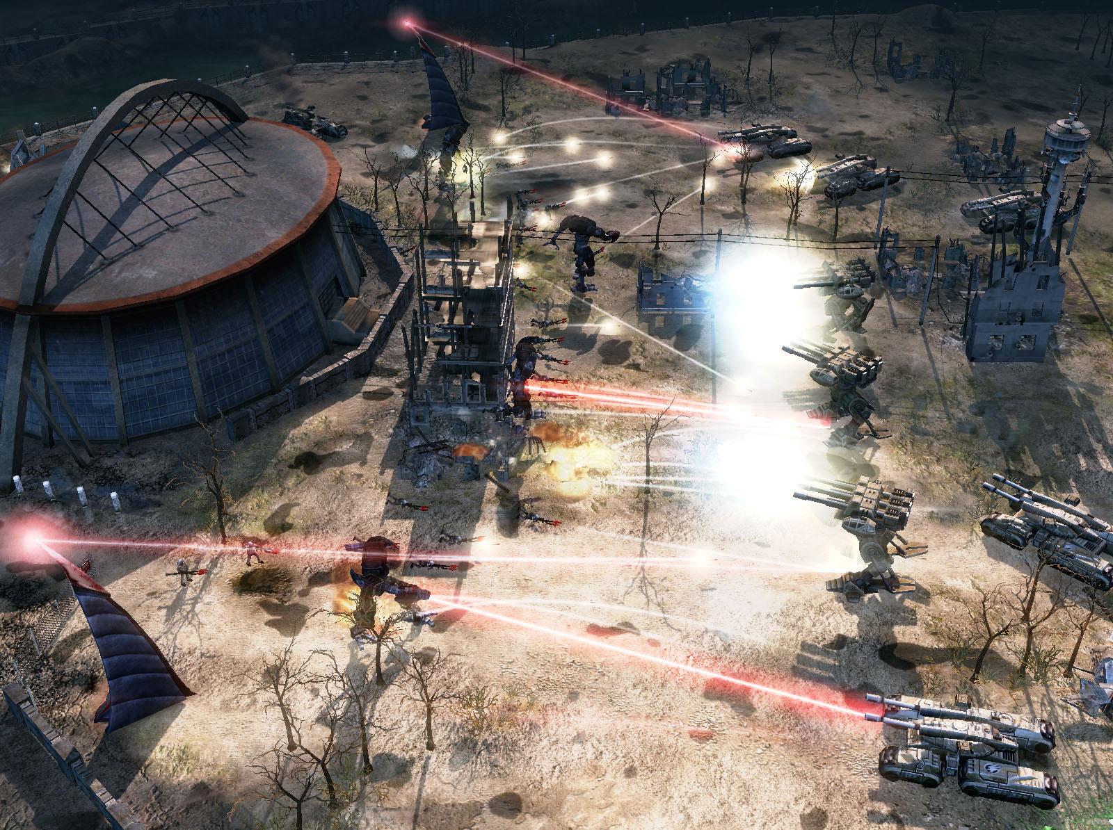 tiberium wars laser bs Die Waffensysteme in C&C - Teil 1: Laser