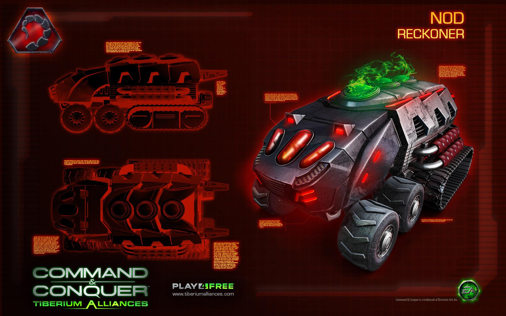 artwork nod reconer Tiberium Alliances jetzt bei Pro7Games