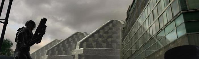 GDI Soldat in zerstörter Stadt