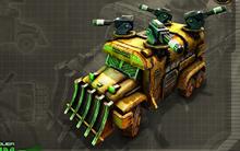 C&C Tiberium Alliances Scrap Truck