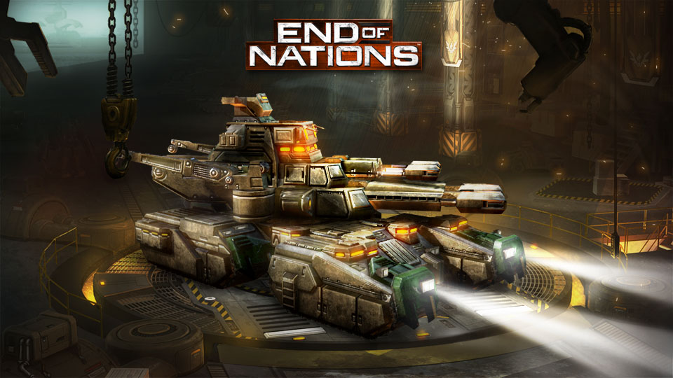 End of Nations das Sci-Fi-MMO-RTS