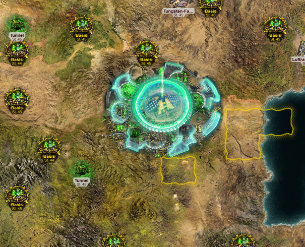 forgotten fortresssmall Endgame Gegner in Tiberium Alliances
