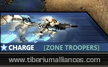 Charge Upgrade des Zone Troopers