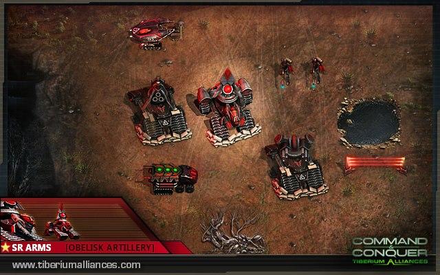 artillery upgrade5 Mammuts brechen aus
