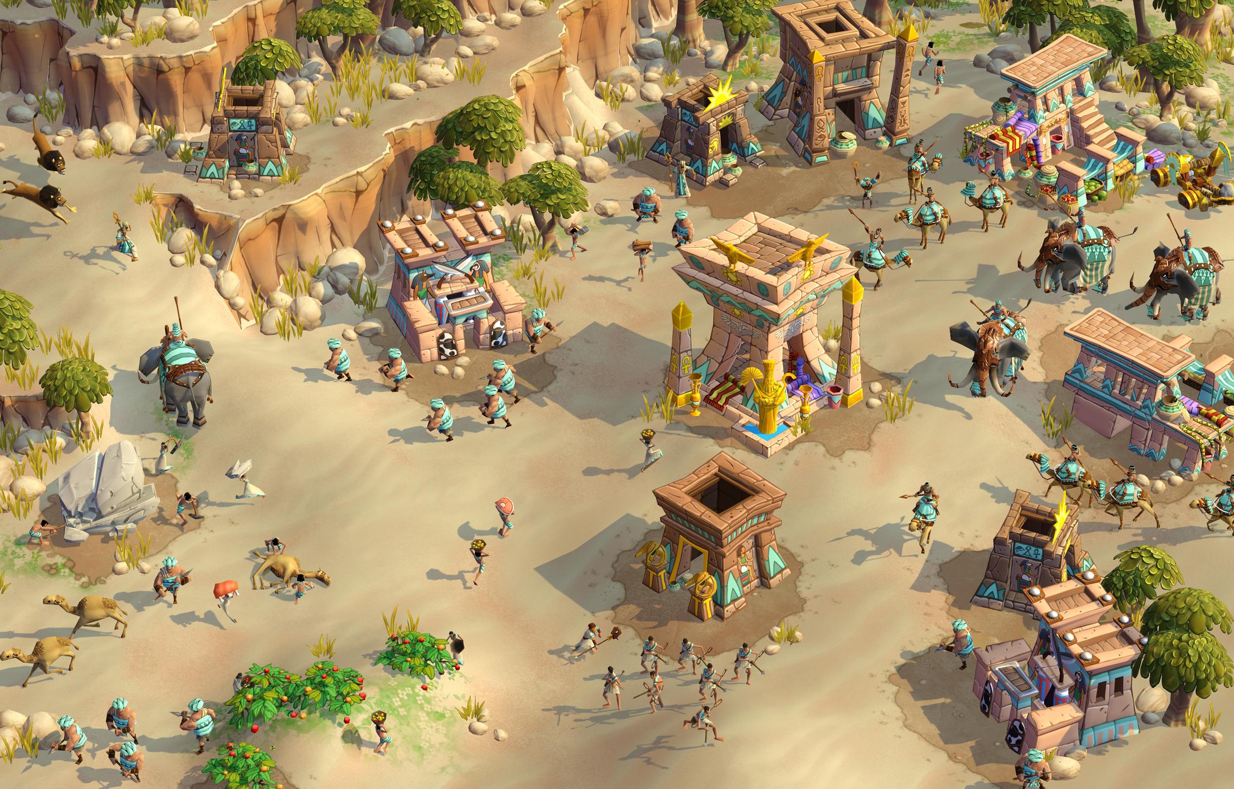 Die Ägypter - Eine der spielbaren Völker in Age of Empires: Online