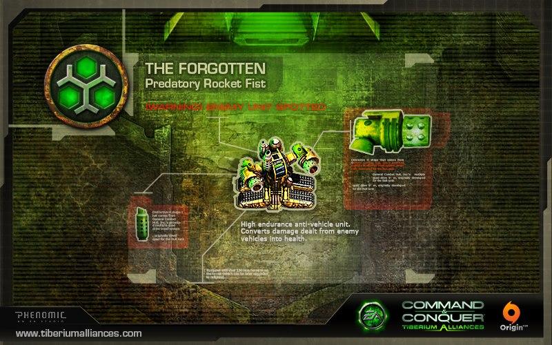 forgotten predatoryrocketfist Neue Forgotten Einheiten im Endgame