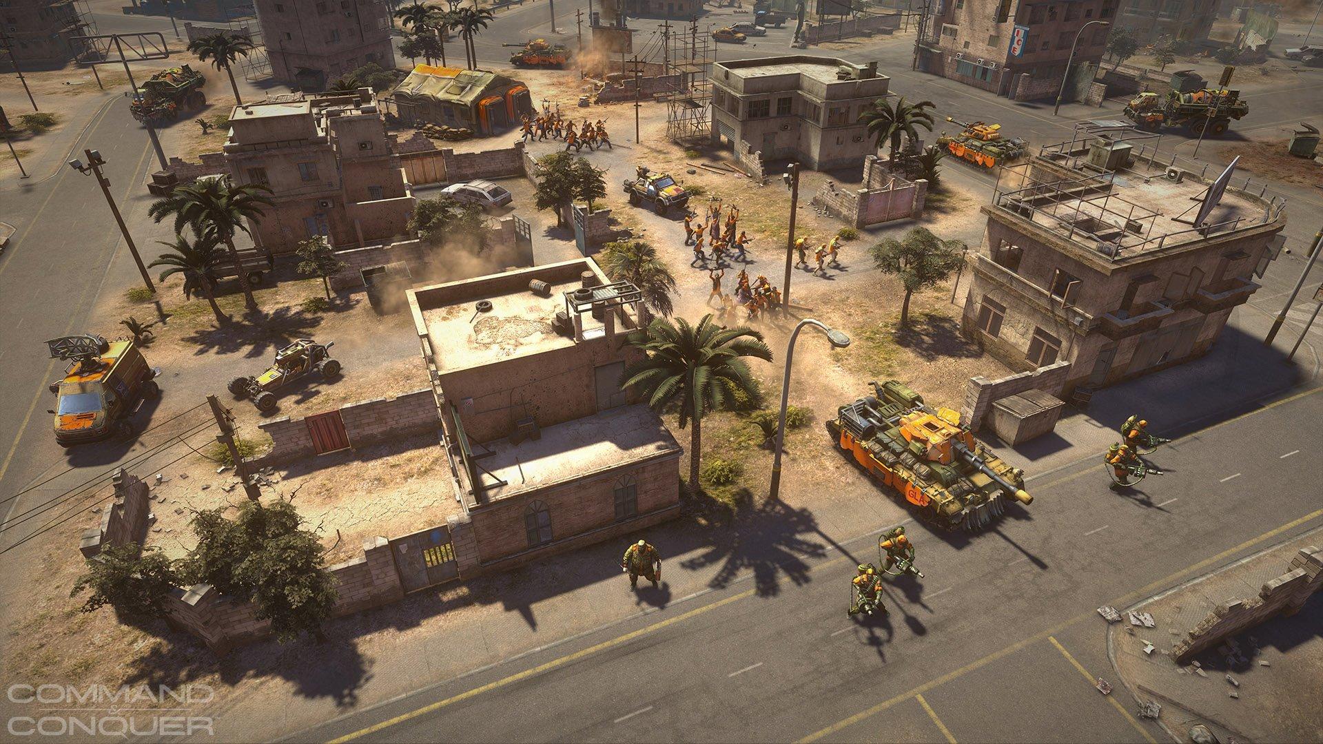 first ingame hd screenshot cnc Erster Generals 2 HD Screenshot!