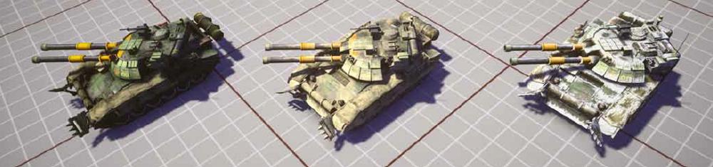 Die kaufbaren Skins sollen einen Panzer nicht schwerer erkennbar machen