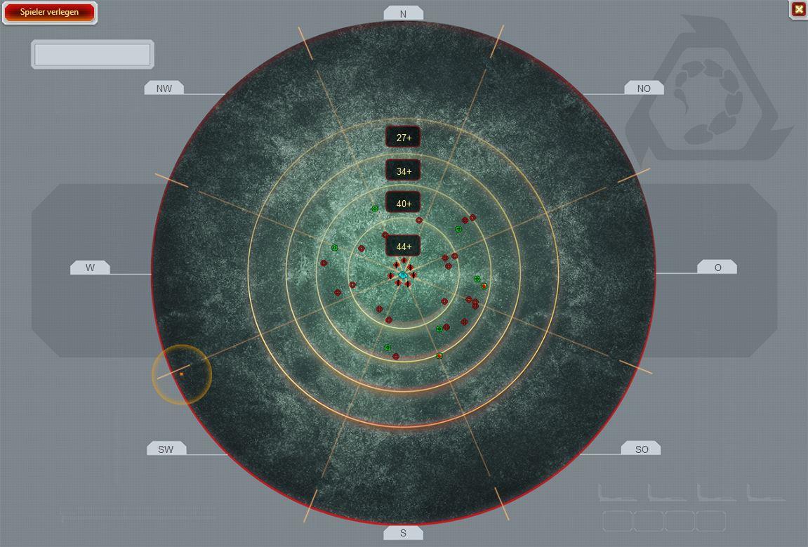 radar Guide zur Spielwelt