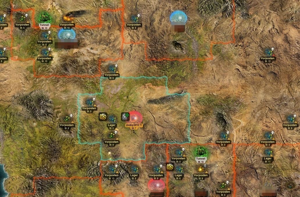 regionview Guide zur Spielwelt