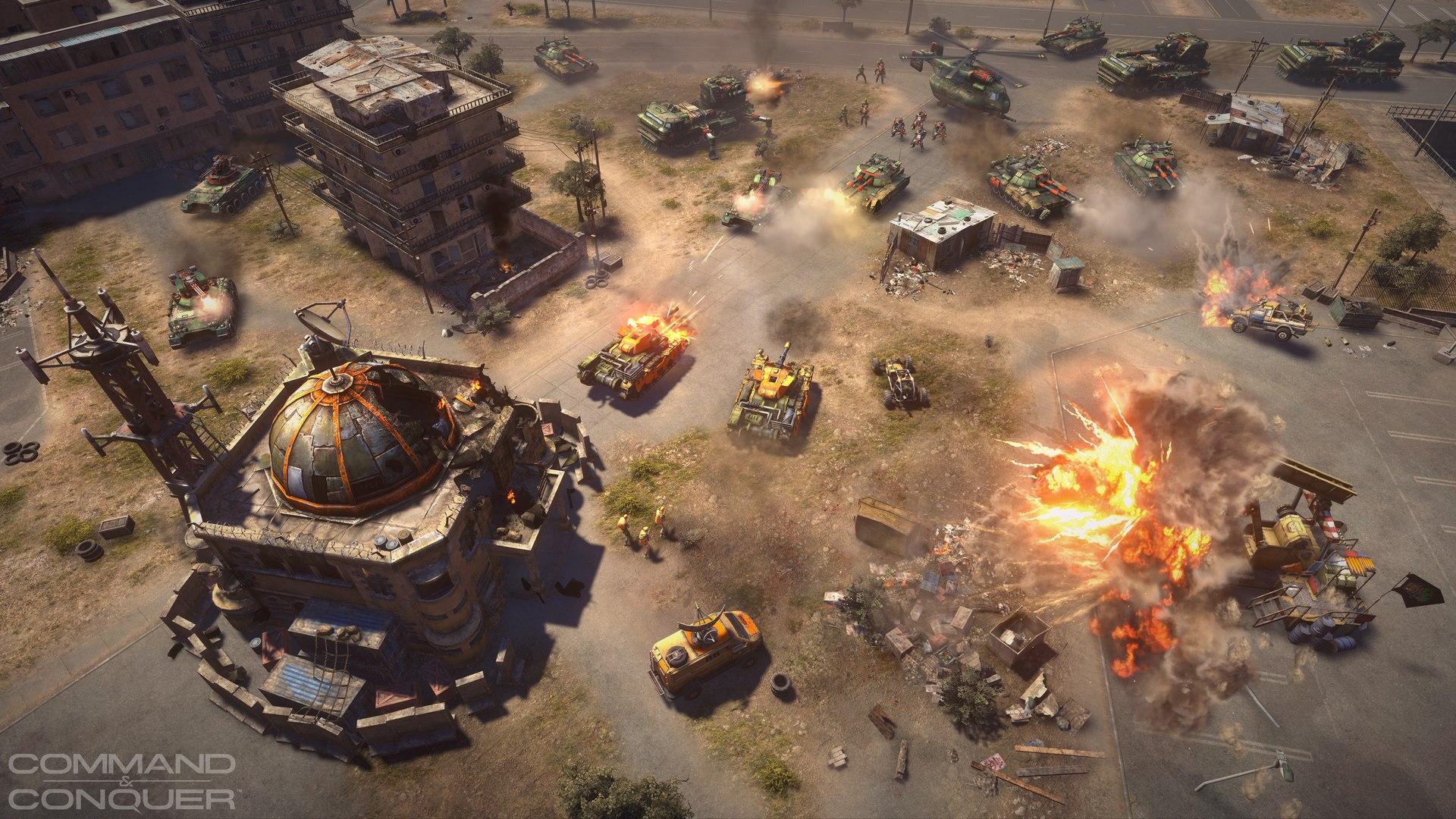 apa attack Neuer Command & Conquer Screenshot bestätigt Helix und Nukleargeschütz
