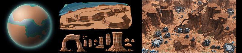 planet desert Planeten und Biome