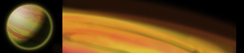 planet gas Planeten und Biome