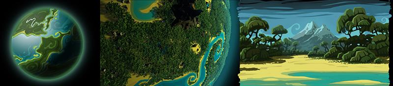 planet jungle Planeten und Biome