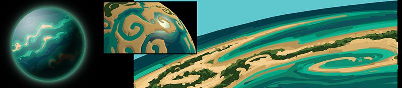 planet water Planeten und Biome