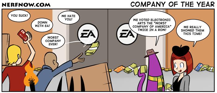 994 Wieder Entlassungen bei EA
