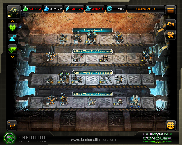 1 Spielt Tiberium Alliances endlich auch mobil!
