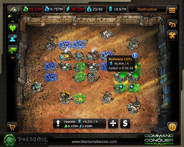 3 Spielt Tiberium Alliances endlich auch mobil!
