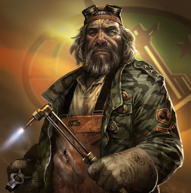 command and conquer   salvage general o Junkyard General Artwork aufgetaucht!