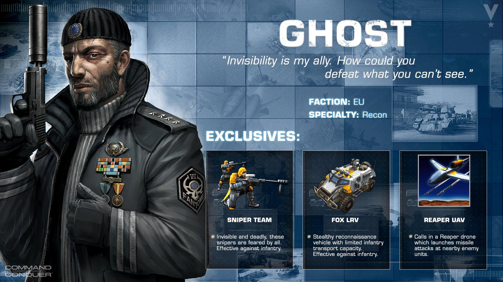 ghost EU General Ghost vorgestellt!