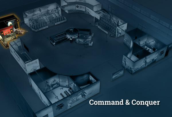 cg2013 lageplan skizze 04 cc Command & Conquer auf der GamesCom