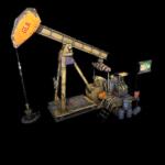 Ölbohrturm