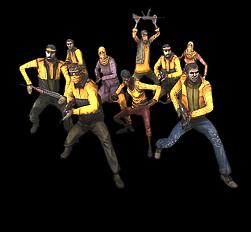 Wütender Mob