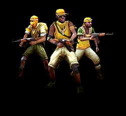 Rebellen-Infanterie
