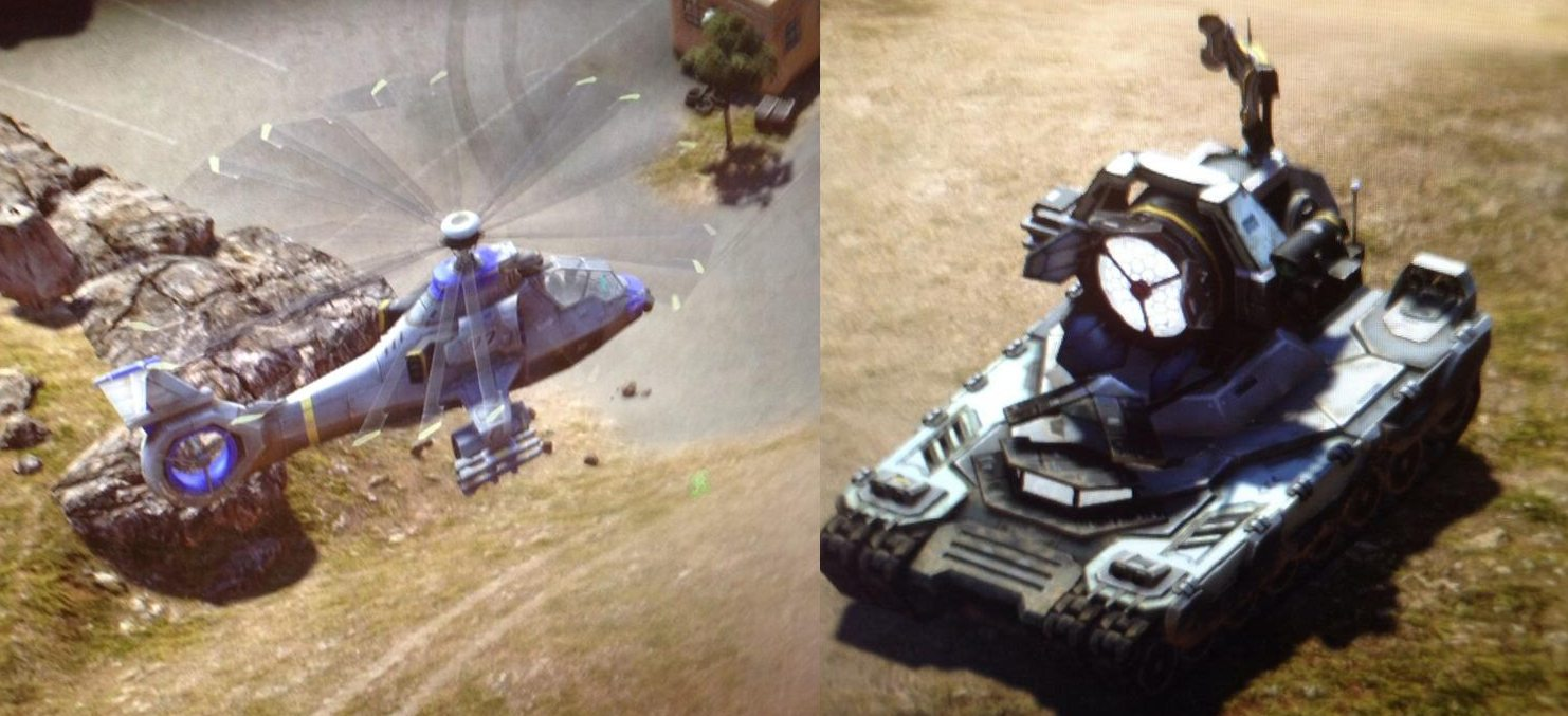 phanton microwave Mikrowellen Panzer und Commanche auf der GamesCom entdeckt