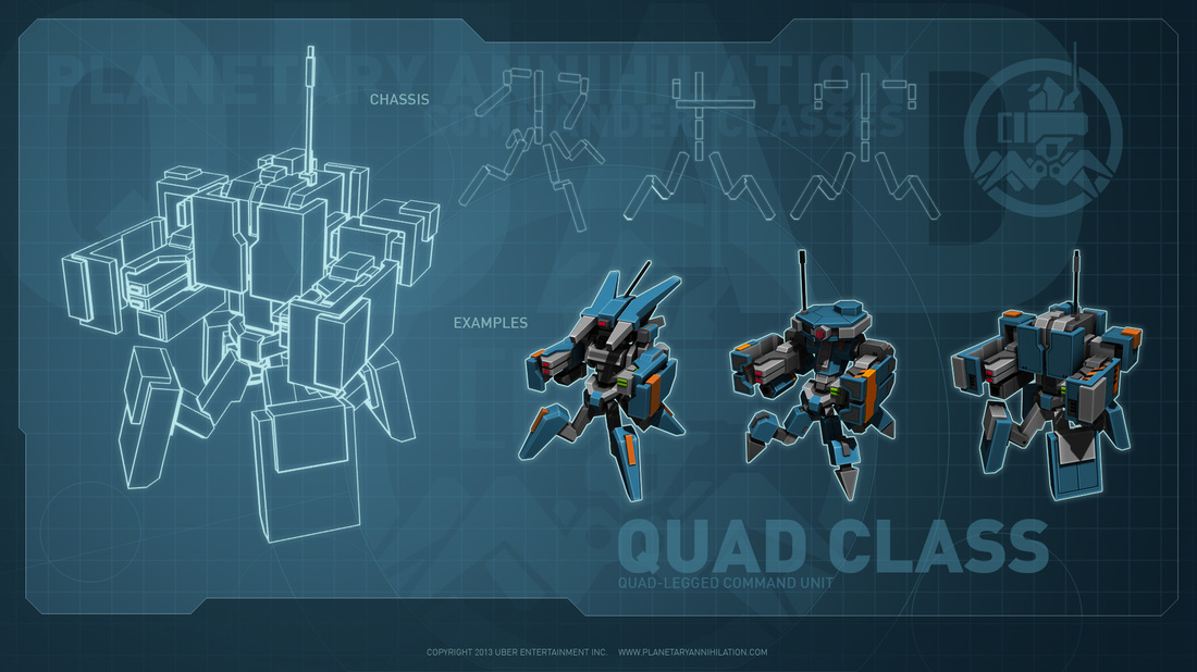 PA quad class Neue Commanderdesigns enthüllt