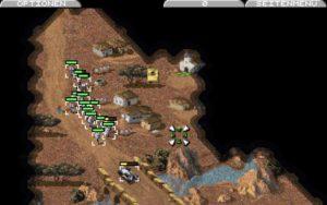 2721 command conquer dos screenshot nod in the desert 8370