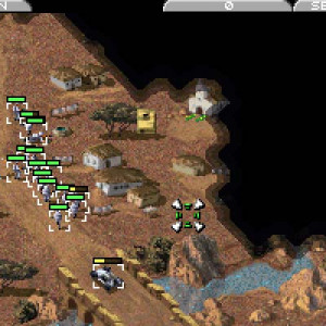 2721 command conquer dos screenshot nod in the desert 8370