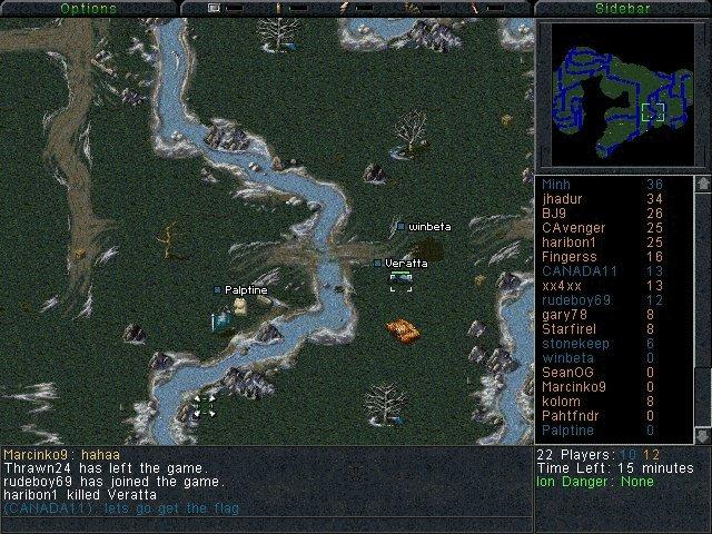 Sole survivor screenshot C&C Sole Survivor