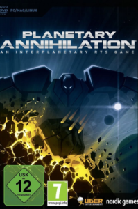 pacover Planetary Annihilation