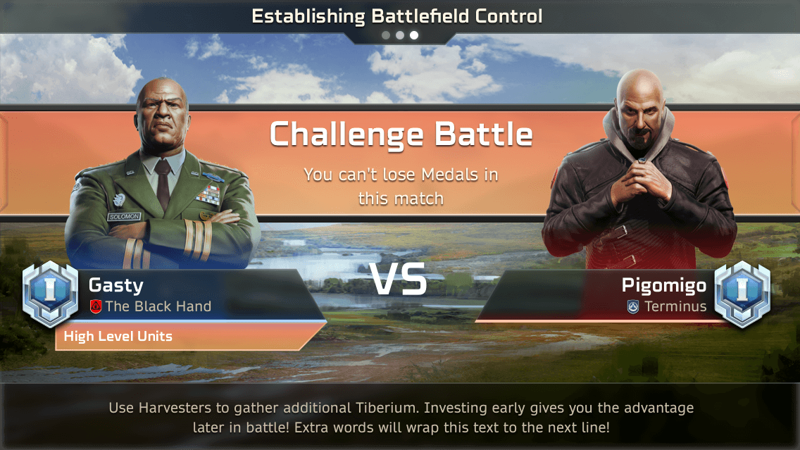 08 07 loadingchallengematch copy So funktioniert das Fairplay in C&C Rivals