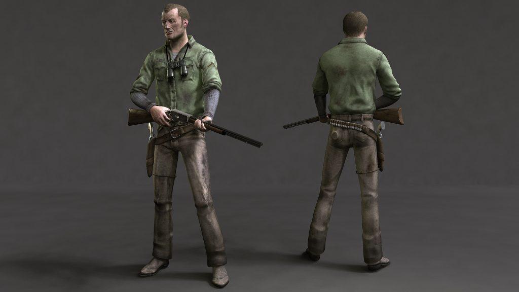 camacho 01 Rifleman render med Project: Camacho (canceled)