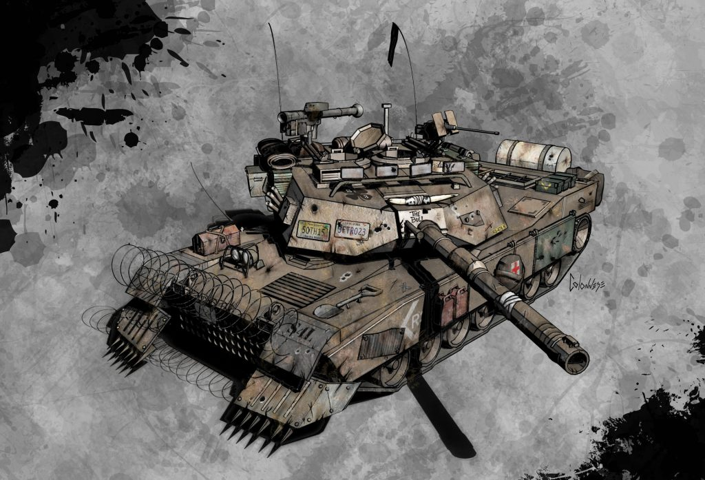 camacho 12 mike colonnese 05 tank2 Project: Camacho (canceled)