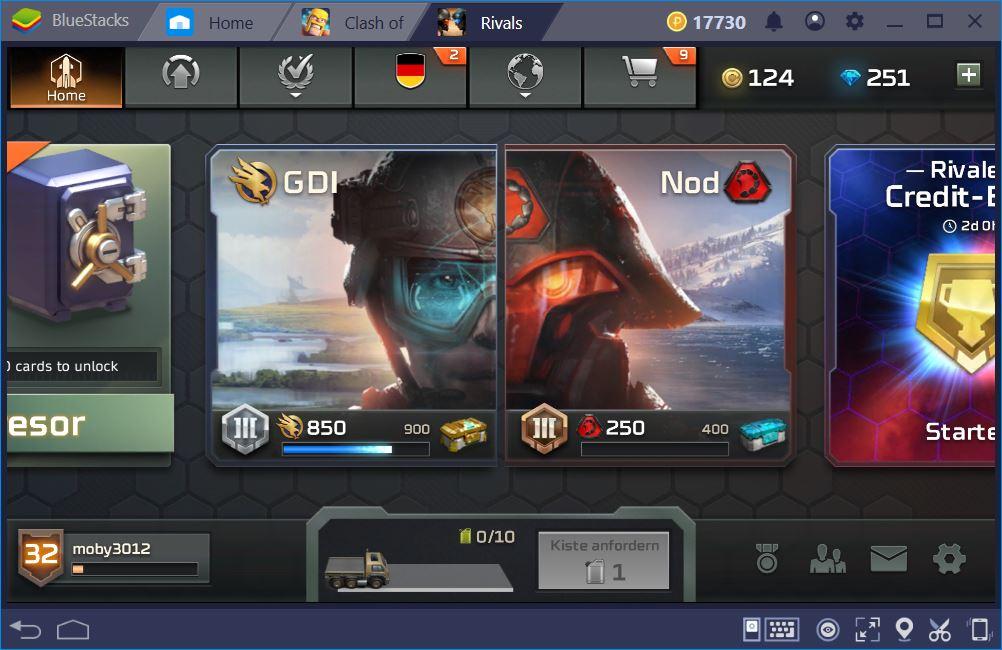 rivalsscreen Wie kann ich C&C Rivals auf dem PC spielen?