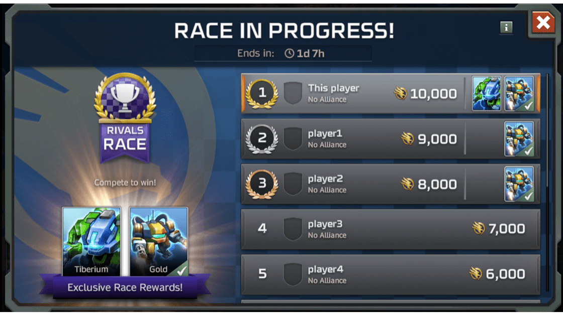 ccr inline media race rivals race started Bald erhältlich: Rivals-Rennen