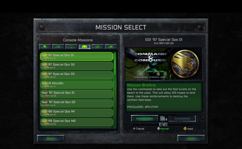 ccrem screenshot console missions black stripe.jpg.adapt .1920w C&C Remastered Collection