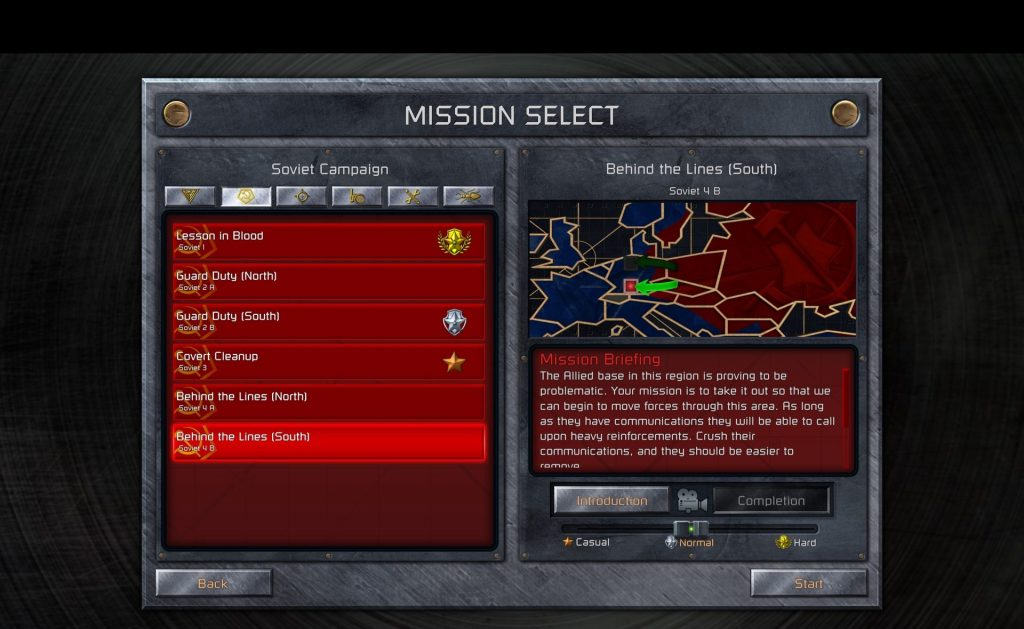 ccrem screenshot mission selection black stripe.jpg.adapt .1920w C&C Remastered Collection