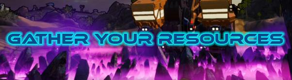 Earthbreakers GatherYourResources Spiele