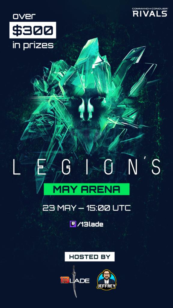 RkJsFI5 300 $ im Preispool der LEGION Arena Saison Mai 2020
