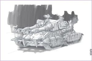 CNCRen2 Apocalypse Mammoth Tank concept 11809