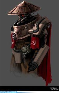 CNCRen2 Cyborg Soviet Concept 11810