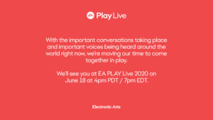 EZxloTeXYAIINKn EA verschiebt EAPlay um eine Woche!