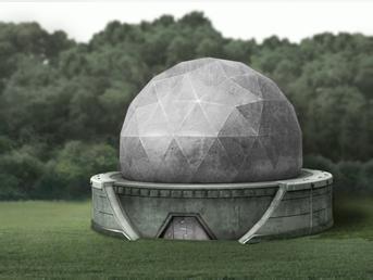 alliierte radarstation Radarstation
