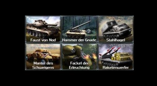 newspic Tiberiumkonflikt Mod: Klassische Einheitennamen